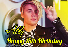 Personalised Justin Bieber Birthday/Greeting Card - Gift for any occasion A5