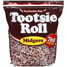 Tootsie Roll Midgees 50% OFF was $33.98 now for only  $16.99 Candy 5 lb FREE S/H