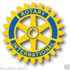 Rotary Club Logo Car Truck Outdoor Decal Sticker 4""