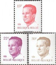 Belgien 2176-2178 (kompl.Ausg.) postfrisch 1984 König Baudouin