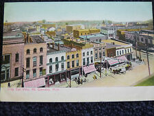 Early 1900's A Bird's Eye View of Mt. Clemens, MI Michigan PC