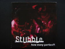 STUBBLE - HOW MANY PARTIES CDR 2009 CARD SLEEVE CD