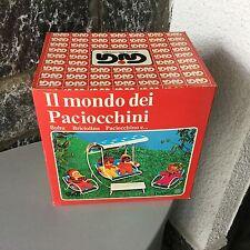 VINTAGE#70s Playset PACIOCCHINI FIAMMIFERINO EL GRECO ULTRA RARE#DONDOLO