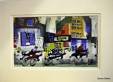 Sue Howells Movers and Shakers Mounted Print ready to Frame