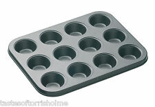 Masterclass Professional Heavy Duty Mini 12 Hole Mini Muffin / Cake Baking Tray