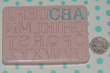 Alphabet (Upper Case) Mould by Fairie Blessings