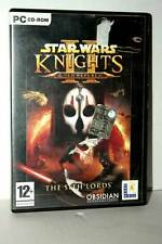 STAR WARS THE SITH LORDS KOTOR II GIOCO USATO PC CDROM VER INGLESE GD1 43225