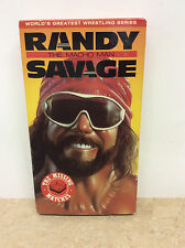 Randy The Macho Man Savage The Missing Matches VHS video