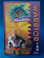 Action Figure - OCEAN WARRIOR - Like Street Sharks - Bootleg Sealed Mannix