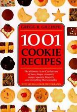 1001 COOKIE RECIPES COOKBOOK 1995 HC PHOTO'S & HOW-TO'S GREGG GILLESPIE