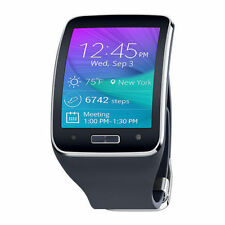 Samsung Galaxy Gear S SM-R750A Charcoal Black Smartwatch AT&T New