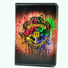 Hogwarts Harry Potter Art Leather Case Cover Stand For Apple ipad mini 1/2/3