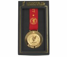 LIVERPOOL UEFA CHAMPIONS LEAGUE 'CHAMPIONS OF EUROPE' ROME 1977 BOXED MEDAL