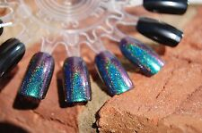 Holographic Spectraflair Multichrome Color Shift Topcoat -15 ml. Blue/Grn/Purple