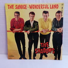 THE SHADOWS The savage / wonderful land ESDF 1404