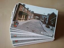 CORONATION STREET NEW POSTCARDS  X 100 IDEAL FOR AUTOGRAPH COLLECTORS