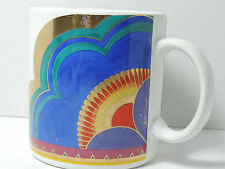 Vintage LAUREL BURCH *Signed* 'PLUM BLOSSOMS' mug/cup, Cat-free, Made in Japan**
