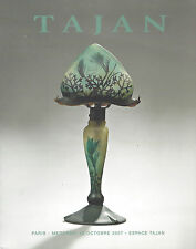 Catalogue 20th Century Design Art Deco Nouveau verrerie Daum Gallé Glassware