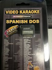 New! Leadsinger song chip- Spanish Dos Vol31,200 tracks sealed with song lists