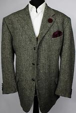 Harris Tweed Blazer Jacket Herringbone Wedding Country 50R EXCEPTIONAL TWEED 494