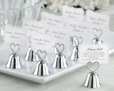 "Creative ""Kissing Bell"" Place Card Holder Wedding Favors 30pcs Free Shipping"
