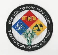 US ARMY PATCH - 52ND CIVIL SUPPORT TEAM (WEAPONS OF MASS DESTRUCTION) - OHIO ANG