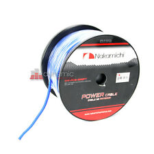 Nakamichi NW-PC8-250FT Car Stereo 8 Gauge (AWG) Power/Speaker Cable Wire New