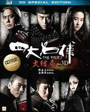"""Ronald Cheng """"The Four III"""" Anthony Wong HK 2014 3D Action Region A Blu-Ray"""