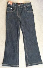 ESPRIT AUTHENTIC BLACK STRETCH JEANS WITH ADJUSTABLE WAIST - AGE 6 BNWT