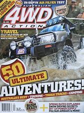 Australian 4WD Action Magazine No 166 - 50 Ultimate Adventures, Touring, Camping