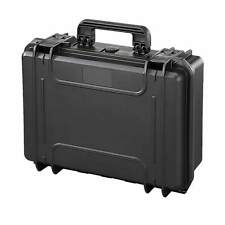 Waterproof Protective Laptop Travel Briefcase Hard Case MAX300 w/ Foam Black NEW