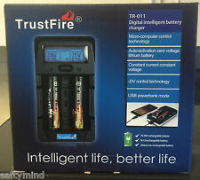 Brand New Trustfire Tr-011 Digital Intelligent Universal Battery Charger