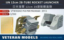 Veteran Models 1/350 IJN 12cm 28-Tube Rocket Launcher