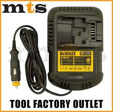 DEWALT DCB119 12V - 18V / 20V XR LITHIUM ION CORDLESS BATTERY CAR CHARGER