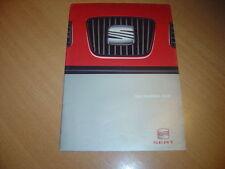 CATALOGUE gamme Seat de 1999 Belgique