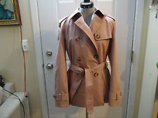 Coach Classic Short Trench in Rose Size   M  NWT