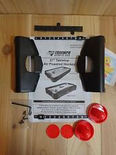 """Triumph Sports 27"""" Tabletop Air Hockey Parts and Assembly Manual MH-1027 45-6055"""