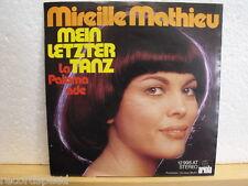"""★★ 7"""" - MIREILLE MATHIEU - La Paloma Ade - Mein Letzter Tanz"""