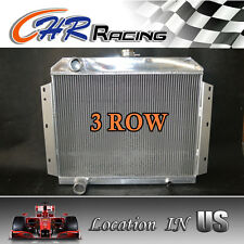 ALUMINUM RADIATOR 3 ROW  FIT FOR 1966 1967 1968 1969 International Scout V8