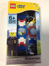 LEGO City Policeman Kids Watch 4291329 NEW! 50 Meters Water Resistant