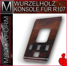 MERCEDES SL W107 R107 560SL 500SL 300SL Wurzelholz Holz Blende Holzblende NEU