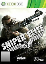 Sniper Elite V2 (Microsoft Xbox 360, 2012) SAME DAY POST