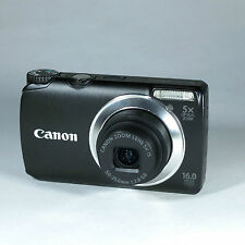 Canon PowerShot A3350 IS 16.0 mp Digital Camera - Black works but with faults