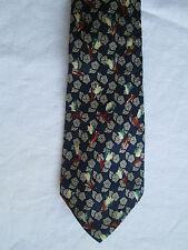 AUTHENTIQUE cravate  TED LAPIDUS 100% soie TBEG vintage