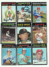 Darold Knowles signed  1971 Topps #261 Senators