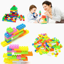 144Pcs Plastic Children Kid Puzzle Educational Building Blocks Bricks Toy Animal