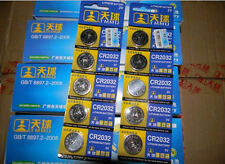 New CR2032 2032 3V cell coin button battery for watch x5 pcs Auction