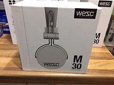 WESC M-30 Over Ear Cuffie Cablato Connettori placcati in oro-bianco