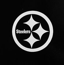 "(2) Pittsburgh Steelers 5"" NFL Football Team Logo Car Window Vinyl Decal Sticker"