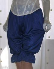Vintage inspired Victorian~Edwardian style blue bloomers pettipanst culottes